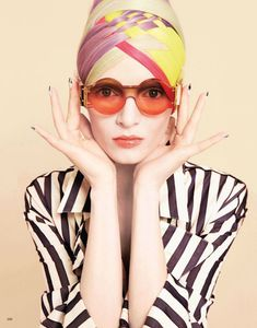Daria Strokous Vogue Japan June 2012. Photographed by Francois Nars.