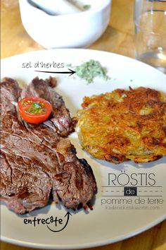 Plancha rosti - Recette röstis aux pommes de terre à la plancha et sel d'herbes @kaderick