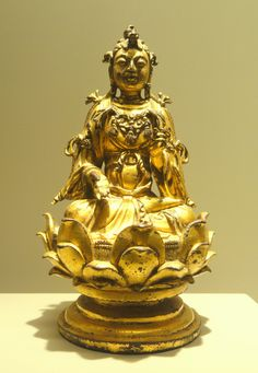 bodhisattva   File:Manjusri Bodhisattva of the Five Chignons, Chinese, Liao Dynasty ...