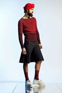 men in skirts | ... guys felt comfortable wearing kilts and skirt-like outfits because