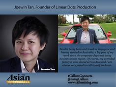 Joewin Tan, Founder of Linear Dots Production