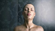 Here is the final video of the Shower scene.   Shading, Lighting, Rendering and Water Simulation by me.  Textured head with morph targets by Sri Ram.  Some details : Head modeled in max and sculpted,posed and textured in Mudbox Water was simulated with glu3d gpu at 400 fps. (and it was fast at that fps to simulate)  Simulation took 2 hours (realtime) and the final rendering took 70 hours using iRay. Water meshing was done with Frost which was realtime.  www.jhjariwala.com www.sriramatrix.com