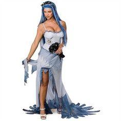 Secret Wishes Sexy Corpse Bride Halloween Costume for sale:  http://www.ebay.com/itm/300960040820?ssPageName=STRK:MESELX:IT&_trksid=p3984.m1555.l2649