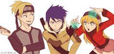 Shikatema Sasuhina NaruSaku< I don't ship SasuHina or NaruSaku bit this is really cute Naruko Uzumaki, Boruto, Shikatema, Sasuhina, Narusaku, Anime Naruto, Anime Ninja, Naruto Comic, Hinata