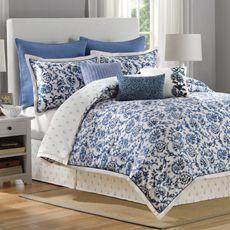 New!! B. Smith® Greyton 4-Piece Comforter Set - Bed Bath & Beyond