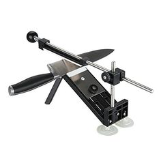 Aikoi Knife Sharpener Update Professional Kitchen Knife Sharpener System 4pcs Whetstones Apex Edge Pro * You can get more details at