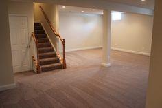 Broadlands finished basement