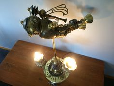 King Bee King Bee, Table Lamp, Chandelier, Ceiling Lights, Retro, Lighting, Create, Home Decor, Homemade Home Decor