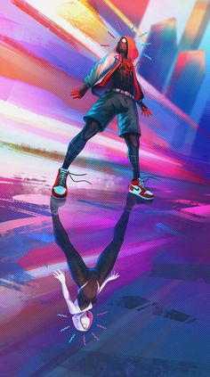 Into the Spider-Verse by Simon Dinh : Spiderman – Marvel Comics Marvel Comics, Marvel Art, Marvel Heroes, Marvel Avengers, Avengers Superheroes, Spiderman Spider, Amazing Spiderman, Spiderman Images