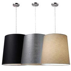"I love this product from Whispar Design! Couture 18"" Drum Pendant - Whispar Design"