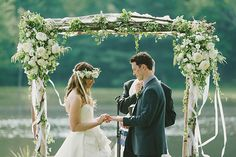 backyard wedding ❤️