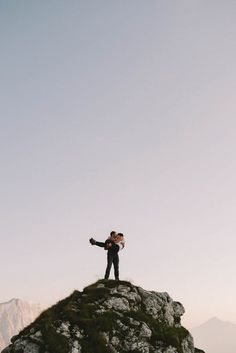 Kira and Nejc had an adventurous hiking engagement session at Mangart Saddle in the Julian Alps. Happy Moments Wedding Photography captured the journey. Hiking Photography, Couple Photography, Engagement Photography, Amazing Photography, Wedding Photography, Photography Ideas, Unique Engagement Photos, Engagement Photo Inspiration, Engagement Couple