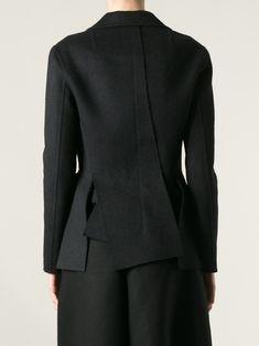 Yang Li Cutout Hem Jacket