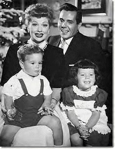 The Arnaz Family - 1954 by Lucy_Fan, via Flickr