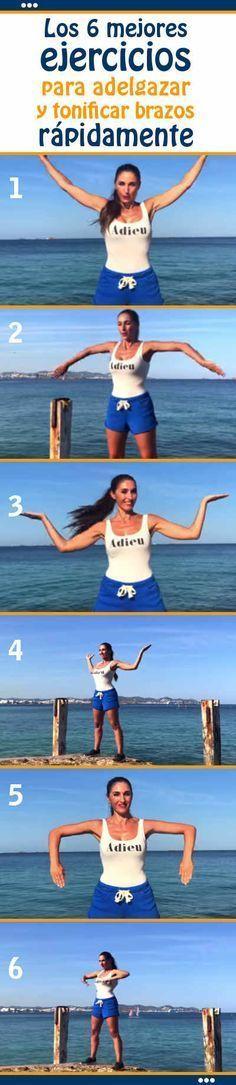 Los 6 mejores #ejercicios para #adelgazar y #tonificar #brazos #rápidamente #rutina #cuerpo