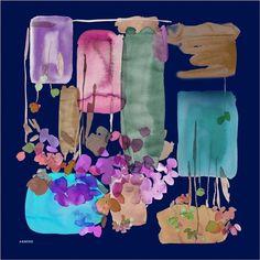 Armine Chinchin Designer Abstract Art Scarf at www.hijabplanet.com - free shipping worldwide #hijabonline #muslimah #fashiontrends #scarves #fashioninspiration #scarfstyle #premiumhijab #scarfs #silkscarf #beautiful