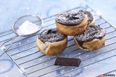 Receita de Pastéis de nata de chocolate. Descubra como cozinhar Pastéis de nata de chocolate de maneira prática e deliciosa com a Teleculinária!
