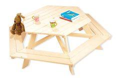 Pinolino 201038 - Nicki Kindersitzgruppe 6-Eck: Amazon.de: Spielzeug
