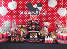 If I ever have a little girl... heck, maybe I'll just have a Minnie themed birthday for myself!