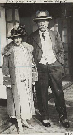 Lady Conan Doyle and Sir Arthur Conan Doyle