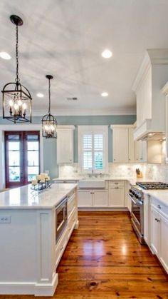 Gorgeous bright modern #kitchen by Georgiana Design