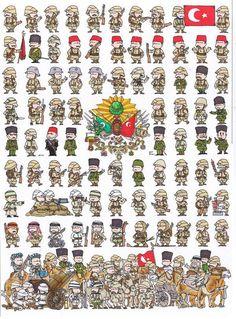 Tropas Británicas I Guerra Mundial. Tropas Británicas. Tropas Rusas. La Unión Soviética. Soldados Austro-Húngaros. Ejército Turco. Ejército Japonés. Tropas Francesas. Mosqueteros Franceses y Británicos. Soldados Japoneses - Guerra...