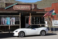 "Last March, I walked out of a restaurant in Oatman, Arizona to find some tourists excitedly having their pictures taken by my car. It was hilarious. ""Nice car!"" one of the men said with a thick accent, and then gave me a big, toothy grin and an enthusiastic thumbs up! #mx5 #mazda #carlove"