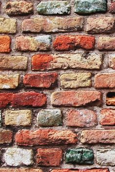 Colorful Brick Wall iPhone Wallpaper Download | iPhone Wallpapers, iPad wallpapers One-stop Download