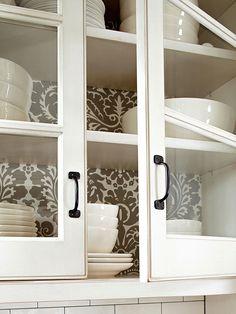 wallpaper Cabinets