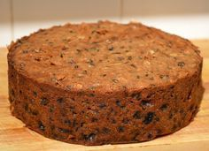 Easy Classic Christmas Cake Recipe (Inspired by Mary Berry) : Easy Classic Christmas Cake Recipe (Inspired by Mary Berry) - cake ready for feeding Pear And Almond Cake, Almond Cakes, Xmas Food, Christmas Cooking, Easy Cake Recipes, Baking Recipes, Fruit Cake Recipes, Sweets Recipes, Easy Christmas Cake Recipe