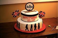 Beatles birthday cake