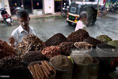 Stock Photo : Spice Trade in Kerala, India
