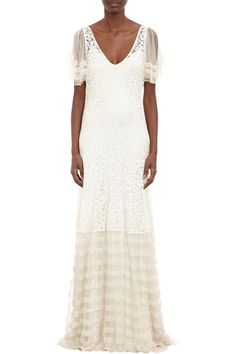 Temperley London Ivory Silk Deneuve Gown, $2495, available at Avenue 32.