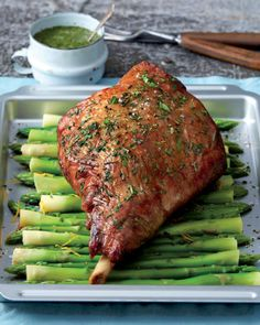 Award-winning retailer Aldi has everything you need for any Easter feast - from fruit and veg to succulent meat and scrumptious sides - and all for less than you might think. Primal Recipes, Lamb Recipes, Roast Recipes, Cooking Recipes, Cooking Tips, Lamb Roast Recipe, Roast Lamb, Lamb Dinner, Easter Dishes