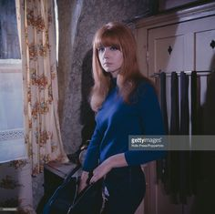 janeashersource:  English  actress Jane Asher, who plays the character of Annie in the British  film 'Alfie' pictured on set in London in 1965. (Photo by Rolls  Press/Popperfoto/Getty Images)Credit: Rolls Press/Popperfoto / contributor
