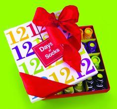 12 Days Of Christmas Socks 0 M