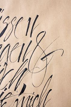Gorgeous hand lettering — Tobias-David Albert