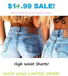 High Waisted Shorts, Mystery Distressed Cutoffs, All Sizes & Washeshigh waisted shorts 2017 2018 Denim Cutoffs, Ripped Shorts, Ripped Denim, Distressed High Waisted Shorts, Distressed Denim, Waisted Denim, Short Outfits, Summer Outfits, Fashion Clothes