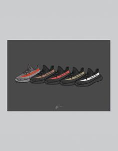 Image of ★ NEW ★ Yeezy 350 v2 Collection