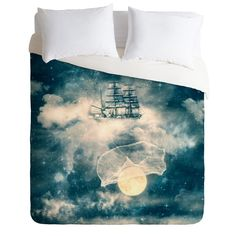 Belle13 I Am Gonna Bring You The Moon Duvet Cover   DENY Designs Home Accessories