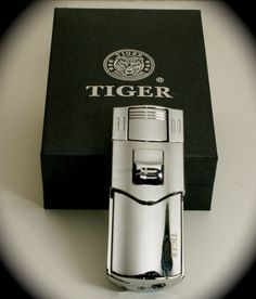Tiger Fulcrum Double Torch Cigar Lighter