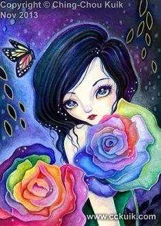 """Petals of Rainbow"" by Ching-Chou Kuik"