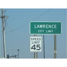 "Lawrence, Kansas - nicknamed ""Larryville"""