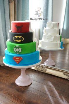 10 Half-Nerdy Wedding Cake Ideas - When Geeks Wed