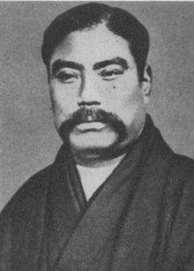 Japanese History - Iwasaki Yatarō (岩崎 弥太郎 January 9, 1835 – February 7, 1885) was a Japanese financier and shipping industrialist, and the founder of Mitsubishi.