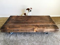 Low Rider Coffee Table Misty Brown от LowRiderTable на Etsy