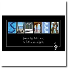 Letter Art Quote plaques from Spell-It-Out Photos.  Countryside, beach, sports, wine, and winter images.