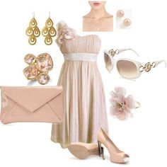 Summer Wedding, bridesmaid dresses love the idea of having mismatch bridesmaids, with matching accessories.