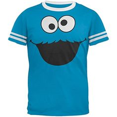 Sesame Street – Cookie Monster Ringer T-Shirt