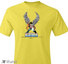 Check out CDH Superhero Chance fundraiser t-shirt. Buy one & share it to help support the campaign! How To Raise Money, Campaign, Superhero, Check, Mens Tops, How To Wear, T Shirt, Stuff To Buy, Things To Sell